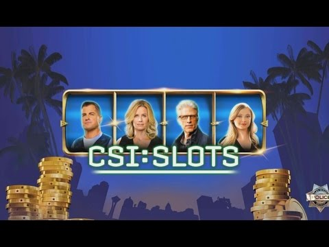 CSI: Slots - Android Gameplay HD