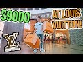 INSANE $9000 LOUIS VUITTON SHOPPING SPREE!!