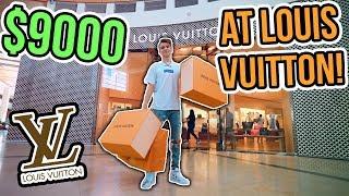 INSANE $9000 LOUIS VUITTON SHOPPING SPREE!!