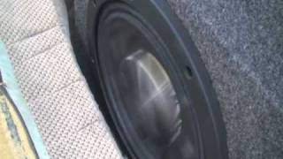 pioneer 12 inch shallow subwoofers loud bass