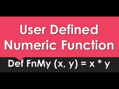 How to Make User Defined Functions | GW BASIC Programming Tutorials | DEF FN Statement