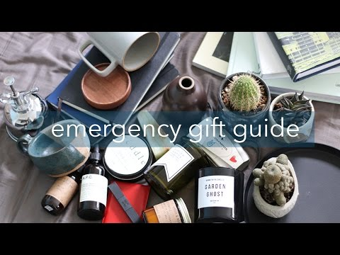 Emergency Gift Guide