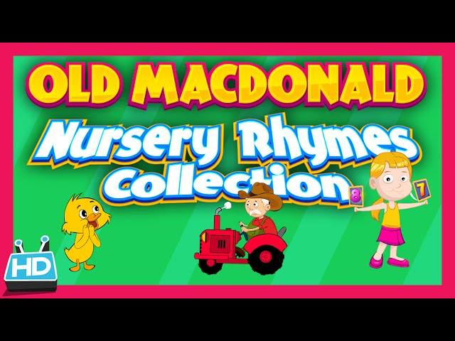 OLD MACDONALD HAD A FARM | Nursery Rhymes Songs for Children