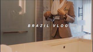[승무원Vlog] 1년만에 다시 찾은 브라질, 리우데자…