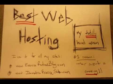 Best Web Hosting: Best Web Host (My TOTALLY Biased Opinion)