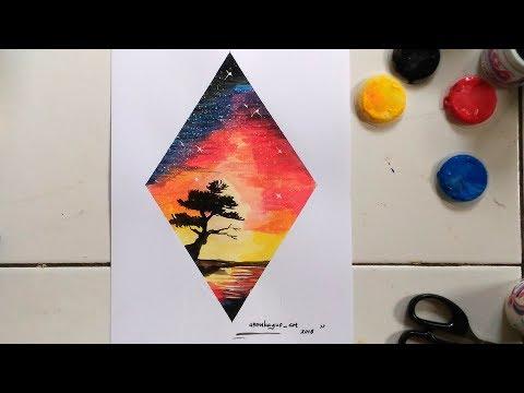 94 Gambar Lukisan Dekoratif Mudah Paling Bagus
