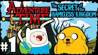 Adventure Time Secret of the Nameless Kingdom PART 1 Legend of Finn! Gameplay Walkthrough Episode 1
