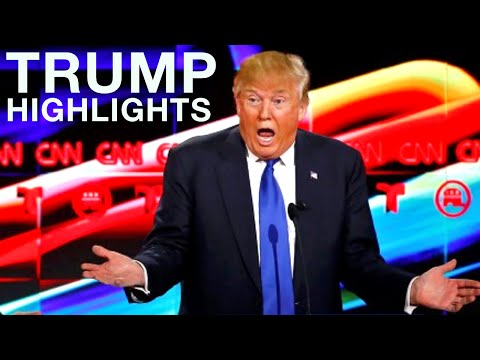 Donald Trump Debate Highlights (Lowlights)