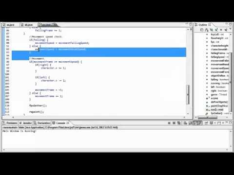 how to make a game in java eclipse