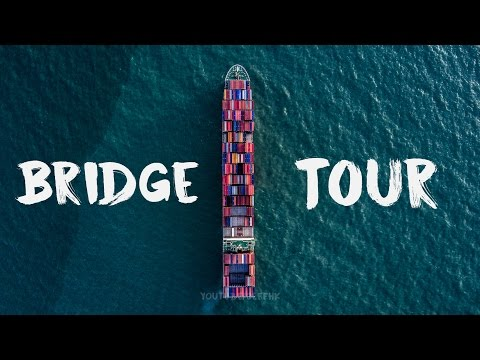 Mega Ship's Bridge Tour - A Closer Look at the Command Center