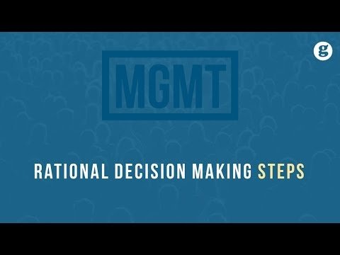 Rational Decision Making Steps