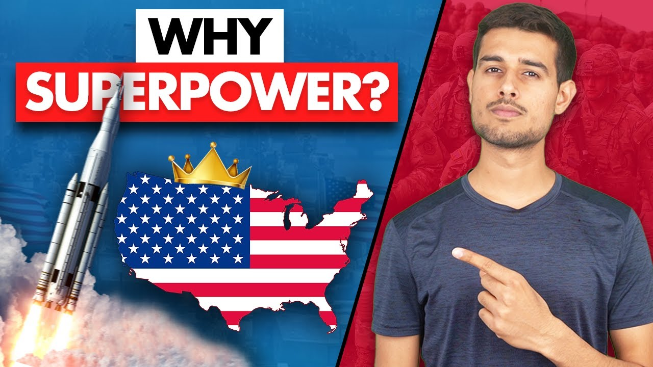 How America became the No.1 Superpower?   Reality of USA  Dhruv Rathee