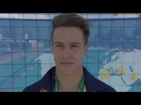 Australian diver Declan Stacey