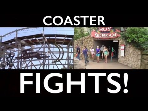 Jack Rabbit vs. Judge Roy Scream - COASTER FIGHTS!