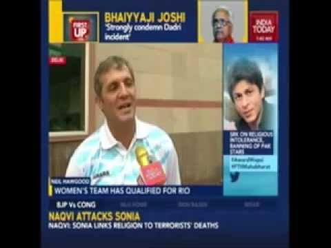 Neil Hawgood's interaction with India Today Television
