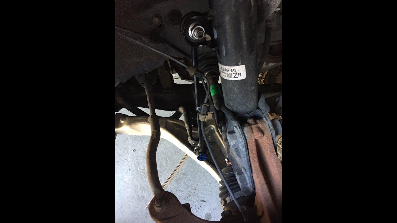 2009 Honda Pilot Sway Bar Link Replacement Youtube 2011 Ridgeline Suspension Control Arm Front Left Lower W0133