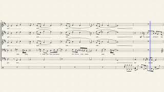 Praying - Pentatonix (Full Sheet Music w/ Lyrics)