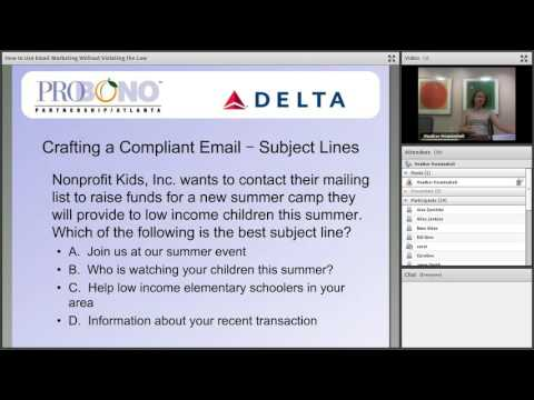 How to Use Email Marketing Without Violating the Law
