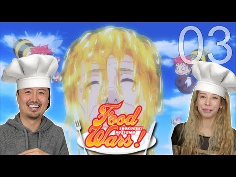 Food Wars Reaction by Kimchi & Tofu