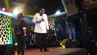 Juala Superboy in churchill show..freestyles/punchlines