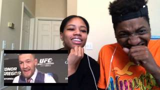 CONOR MCGREGOR IS HILARIOUS ! FUNNIEST MOMENTS PART 1 |REACTION
