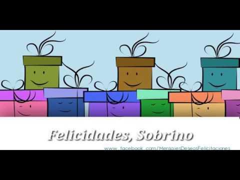 Feliz Cumpleaños Sobrino Happy Birthday Sobrino Youtube