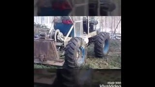Lesny traktor