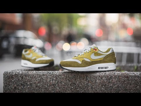 "Review & On-Feet: Nike Air Max 1 Premium ""Green Curry"""
