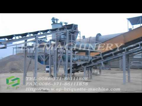 nickel ore briquette production line