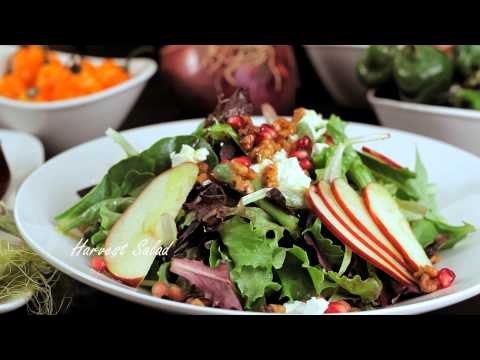 Harvest salad - Harvest Organic Grille -  Organic, natural and healthy food restaurant