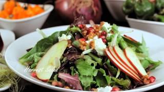 Harvest Salad - Harvest Organic Grille -  Organic, Natural And Healthy Food Restaurant