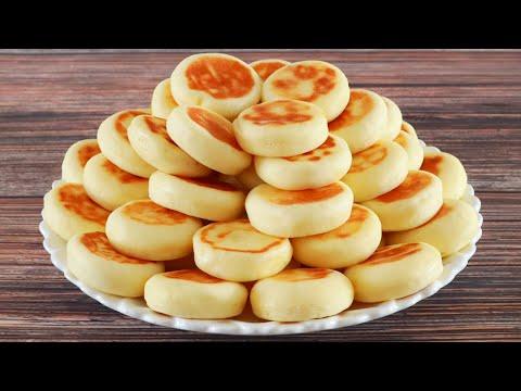 早餐新花样,不放1滴油用山药做小饼,健脾养胃,5分钟出锅!【海娟美食】