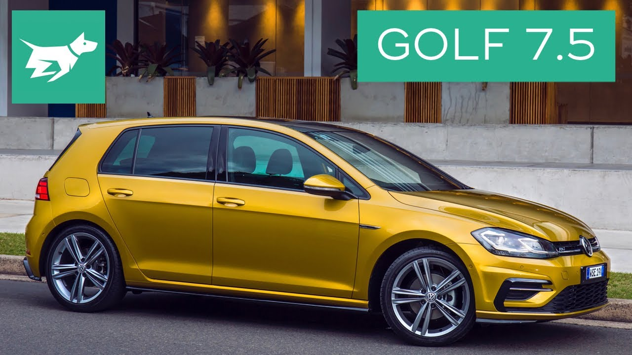 2017 volkswagen golf 7 5 review first drive youtube. Black Bedroom Furniture Sets. Home Design Ideas