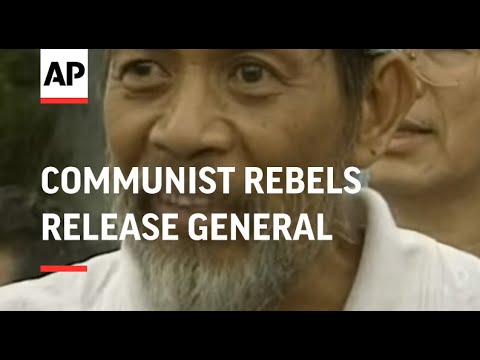 PHILIPPINES: COMMUNIST REBELS RELEASE GENERAL