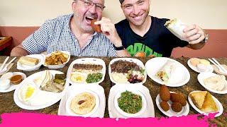 Middle Eastern Street Food in Miami - Falafel, Kibbeh & Lamb Kafta   Coconut Grove