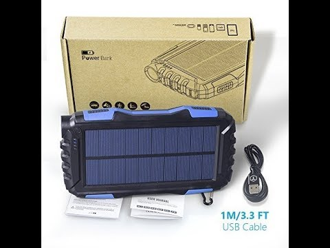 Soluser ---- New favorite outdoor power bank!
