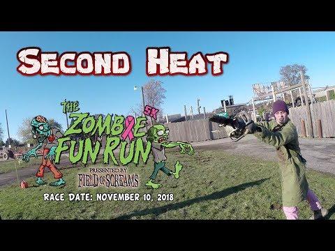2018 Field of Screams Zombie Fun Run - Heat 2