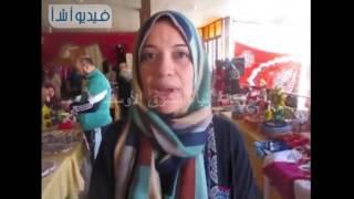 بالفيديو: ختام معرض المنتجات المنزلية فى نقابة المهندسين بالعريش