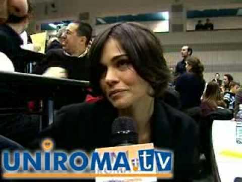 """Intervista a Romina Mondello nuova serie """"RIS"""" a Uniroma Tv"""