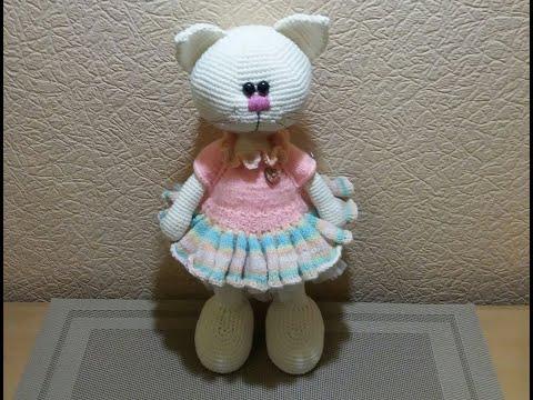 Платье для кота в стиле тильда.