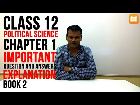 Challenges of Nation Building Class 12 | Important Question And Answers For Exam | Hindi Explanation