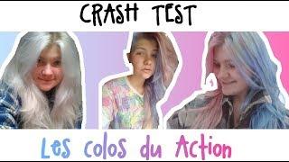 CRASH TEST ~ COLOS DU ACTION ROSE/BLEU/MAYO/MOUTARDE