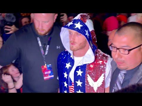 KSI Vs Logan Paul 2 Full Unedited Fight 2019   Logan Paul Lost To KSI *Audience Vlog*