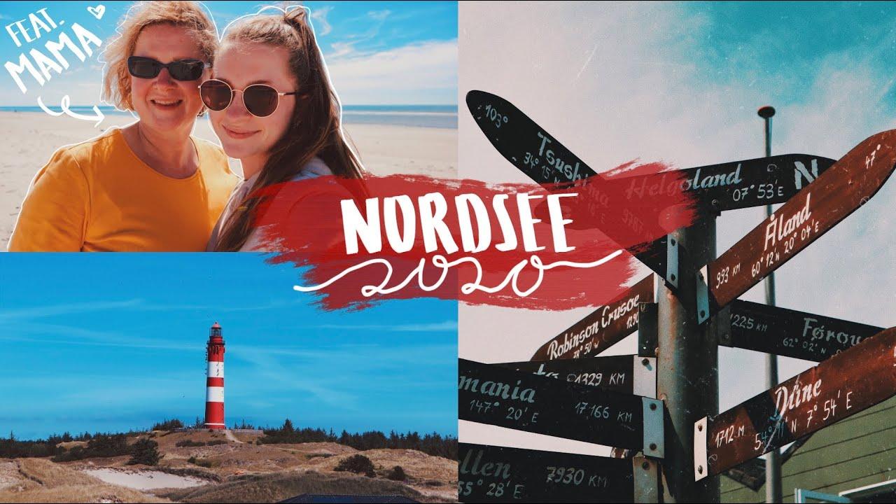 Unser Nordsee Urlaub 2020 || Inselerkundung, Seekrankheit und lustige Momente mit Mama (Outtakes!)