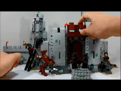 Lego Lord Of The Rings The Battle Of Helm's Deep Review 9474