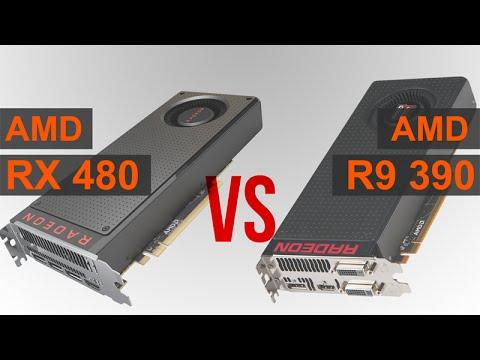 AMD RX 480 vs R9 390
