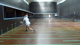 Day 5 - Finals Day  - British Ladies' Real Tennis Open Singles, Doubles and Handicap Doubles 2018