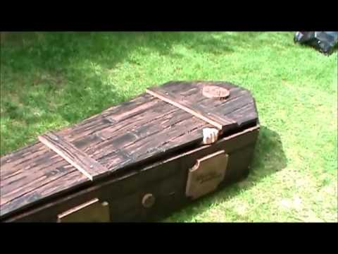 halloween coffin build for our haunt