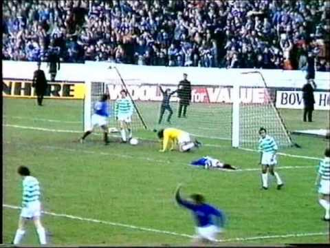 Great Rangers Goals v Celtic - From the Seventies