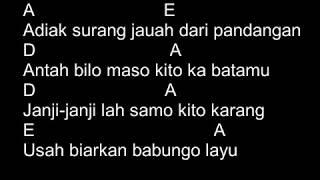Boy Sandy - Rindu Di Awan Biru (Chord & Lyric) Mp3